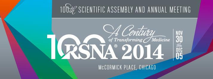 RSNA 2014 logo