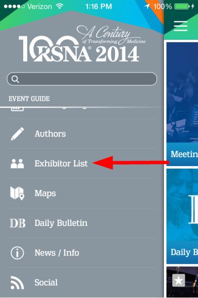 RSNA_App_Menu_Exhibitor