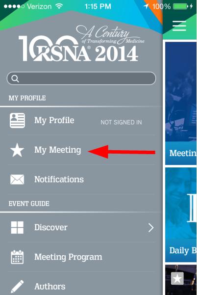 RSNA_App_Menu_Meeting