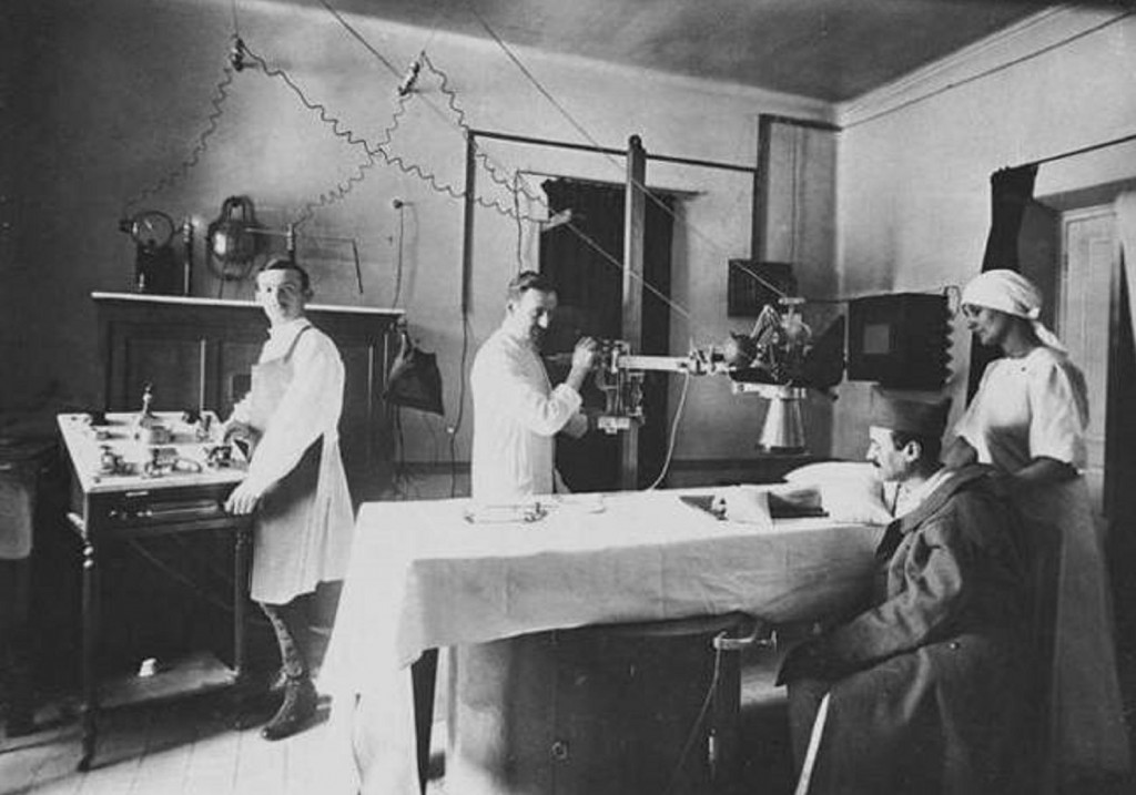 World War I Radiology