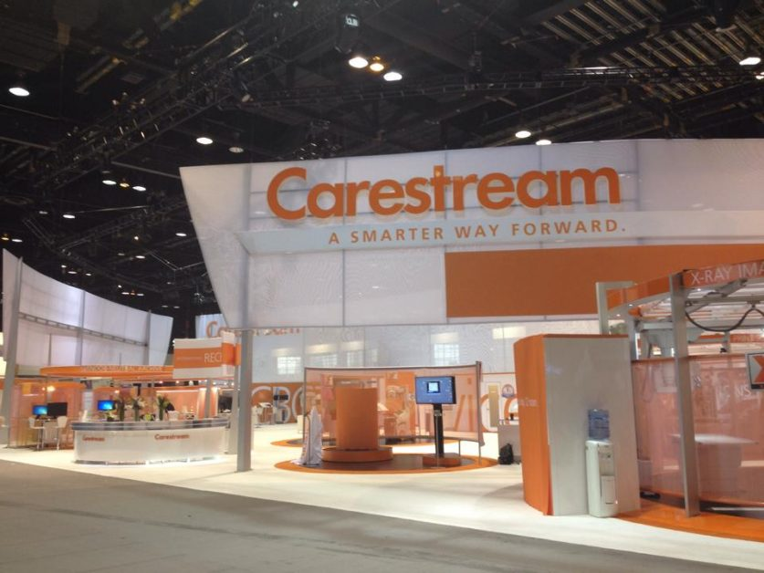 Carestream Booth at RSNA 2014